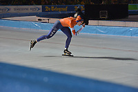 SCHAATSEN: AMSTERDAM: Olympisch Stadion, 09-03-2018, WK Allround, Coolste Baan van Nederland, 3000m Ladies, Ireen Wüst (NED), ©foto Martin de Jong