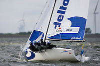 Matchracing, Day 4, May 27th, Delta Lloyd Regatta in Medemblik, The Netherlands (26/30 May 2011).