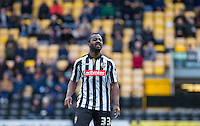 Stanley Aborah of Notts County during the Sky Bet League 2 match between Notts County and Wycombe Wanderers at Meadow Lane, Nottingham, England on 28 March 2016. Photo by Andy Rowland.