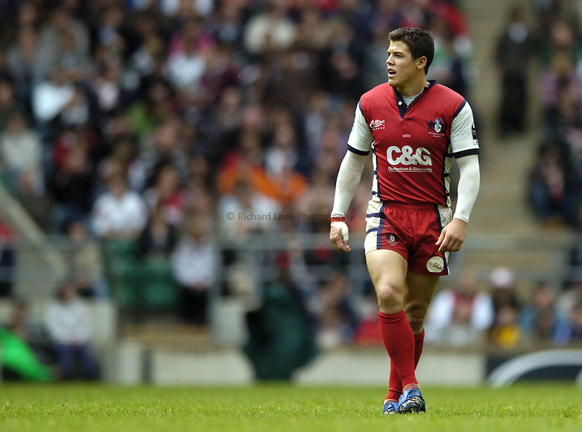 Photo: Jonathan Butler..Gloucester Rugby v Leicester Tigers. Guinness Premiership Final. 12/05/2007..Anthony Allen of Gloucester.