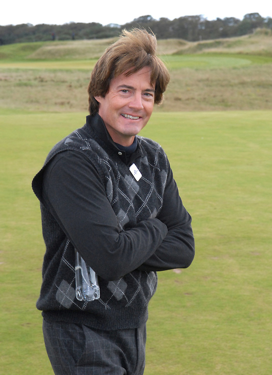 ALFRED DUNHILL LINKS CHAMPIONSHIP, ST.ANDREWS, 5-10-06..BILL MURRAY PLAYING AT KINGSBARNS IN FIRST DAY OF COMPETITION..PIC BY IAN MCILGORM