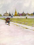 Bangkok:  a corner of the Grand Palace Enclosure       Date: 1908