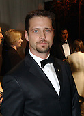 Jason Priestley arrives for the  party  hosted by Bloomberg News following the 2003 White House Correspondents Dinner in Washington, DC on April 26, 2003..Credit: Ron Sachs / CNP.(RESTRICTION: NO New York or New Jersey Newspapers or newspapers within a 75 mile radius of New York City)