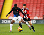 Oliver Greaves of Sheffield Utd during the U18 Professional Development League 2 play off semi final match at  Bramall Lane, Sheffield. Picture date: April 21st 2017. Pic credit should read: Simon Bellis/Sportimage