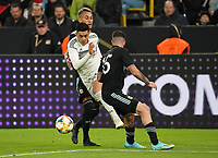 Nadiem Amiri (Deutschland Germany) gegen Marcos Rojo (Argentinien, Argentina), Leandro Parades (Argentinien, Argentina) - 09.10.2019: Deutschland vs. Argentinien, Signal Iduna Park, Freunschaftsspiel<br /> DISCLAIMER: DFB regulations prohibit any use of photographs as image sequences and/or quasi-video.