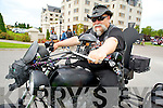 Killorglins Pat Healy was getting all revved up on his trike at the Ireland Bike Fest at the Gleneagle Hotel, Killarney over the weekend.
