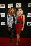 Serena Williams and Caroline Wozniacki at Style360 and HSN Present Serena Williams Signature Statement Collection