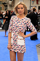 "Laura Whitmore arriving for the ""X-Men: Days of Future Past"" UK premiere at the Odeon Leicester Square, London. 12/05/2014 Picture by: Steve Vas / Featureflash"