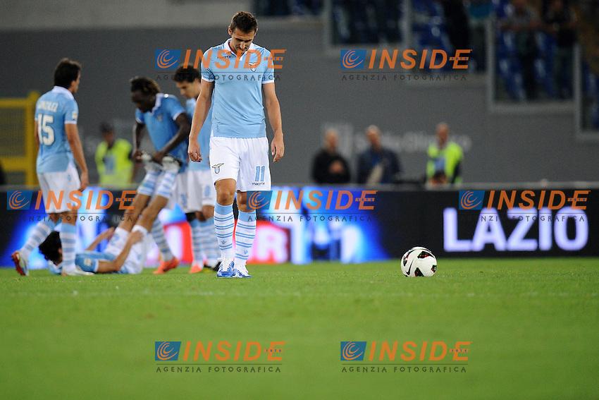 Miroslav Klose (Lazio).23/09/2012 Roma.Stadio Olimpico.Football Calcio 2012 / 2013 .Campionato di Calcio Serie A.Lazio vs Genoa 0-1.Foto Insidefoto / Antonietta Baldassarre.