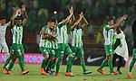 Atlético Nacional venció 2-0 (2-1) a Deportivo Cali. Cuartos de final vuelta Liga Águila I-2018.