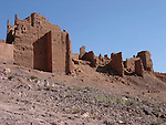 Kasbah near Quarzazate in Morocco.