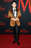 "LOS ANGELES - MAR 9:  Jimmy Wong at the ""Mulan"" Premiere at the Dolby Theater on March 9, 2020 in Los Angeles, CA"