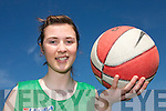 TOP STAR: Lorraine Scanlon from Knocknagoshel who is on the Irish Under 15 Basketball panel.