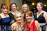 Success<br /> -----------<br /> Leonie Flaherty, front Lt, from Tralee, won the best rising star in the Marketing&amp;Events category at the Connect Kerry Women in Business Awards night last Friday in the Ballyroe heights hotel, Tralee, also front is Sandra Leahy, back L-R Majella Milward, Jane Murphy, Dr Bridget O'Brien and Ann Leahy O'Shea.