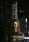 "Theatre Marquee for The Opening Night Performance of the New Broadway Production of ""Miss Saigon"" at the Broadway Theatre on March 23, 2017 in New York City"