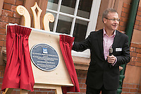 Pictured at the unveiling of The Crossrail Award for Urban Heritage at Nottingham Station is Howard Smith, Operations Director for Crossrail.p4