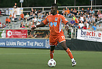 19 May 2012: Carolina's Gale Agbossoumonde. The Carolina RailHawks and the Puerto Rico Islanders played to a 1-1 tie at WakeMed Soccer Stadium in Cary, NC in a 2012 North American Soccer League (NASL) regular season game.