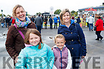 Martina McGrath, Lucy McGrath with Amy Mullins and Edward Mullins, Ardagh, Limerick and Ballylongford  pictured at Listowel Races on Sunday last.
