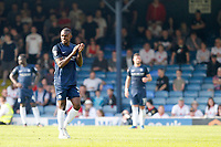 Theo Robinson of Southend United receives a standing ovation as he leaves the field during the Sky Bet League 1 match between Southend United and MK Dons at Roots Hall, Southend, England on 21 April 2018. Photo by Carlton Myrie.
