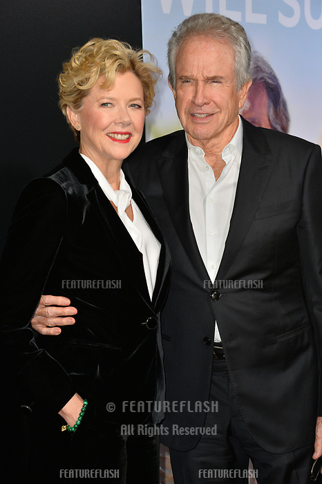 "LOS ANGELES, CA. September 13, 2018: Annette Bening & Warren Beatty  at the premiere for ""Life Itself"" at the Cinerama Dome.<br /> Picture: Paul Smith/Featureflash"