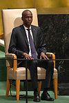 LOS general debate &ndash; 27 September<br /> <br /> AM<br /> <br /> His Excellency Jovenel Mo&iuml;se, President, Republic of Haiti