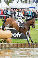 GER-Ingrid Klimke (FRH ESCADA JS) INTERIM-21ST: CROSS COUNTRY: EVENTING: The Alltech FEI World Equestrian Games 2014 In Normandy - France (Saturday 30 August) CREDIT: Libby Law COPYRIGHT: LIBBY LAW PHOTOGRAPHY - NZL