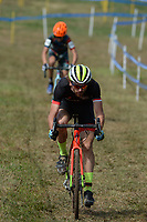 NWA Democrat-Gazette/ANDY SHUPE<br /> Riders compete Saturday, Oct. 5, 2019, during the inaugural FayetteCross two-day cyclocross race series on Millsap Mountain at Centennial Park in Fayetteville. Visit nwadg.com/photos to see more photographs from the race.