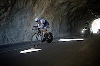 Bauke Mollema (NLD/Trek-Segafredo)<br /> <br /> stage 13 (ITT): Bourg-Saint-Andeol - Le Caverne de Pont (37.5km)<br /> 103rd Tour de France 2016