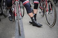 race start<br /> <br /> 72nd Omloop Het Nieuwsblad 2017