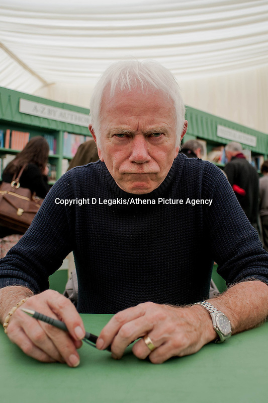 Tuesday 27 May 2014, Hay on Wye, UK<br /> Pictured: Illustrator Tony Ross Re: The Hay Festival, Hay on Wye, Powys, Wales UK.