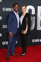 "LOS ANGELES - OCT 6:  Alfonso Ribeiro, Angela Unkrich at the ""Gemini"" Premiere at the TCL Chinese Theater IMAX on October 6, 2019 in Los Angeles, CA"