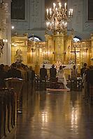 Europe/Pologne/Lublin: Cérémonie de mariage à l Eglise du Saint Esprit
