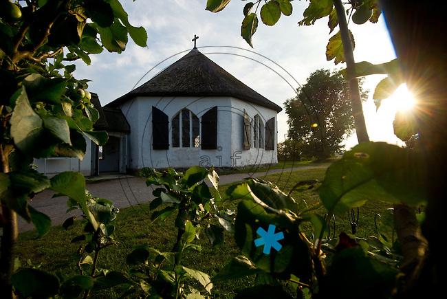 Fischerkirche von Vitt am Kap Arkona. Foto: Norman Rembarz
