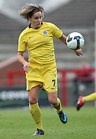 Lucie Martinkova of Sparta Prague - Arsenal Ladies vs Sparta Prague - UEFA Women's Champions League at Boreham Wood FC - 11/11/09 - MANDATORY CREDIT: Gavin Ellis/TGSPHOTO - Self billing applies where appropriate - Tel: 0845 094 6026