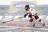 Matt Van Voorhis (DU - 6) - The University of Denver Pioneers defeated the University of Minnesota Duluth Bulldogs 3-2 to win the national championship on Saturday, April 8, 2017, at the United Center in Chicago, Illinois.