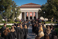 Taiko drummers<br /> The class of 2023 are welcomed to Occidental College by trustees, faculty and staff in Thorne Hall on Aug. 27, 2019 during Oxy's 132th Convocation ceremony, a tradition that formally marks the start of the academic year and welcomes the new class.<br /> (Photo by Marc Campos, Occidental College Photographer)