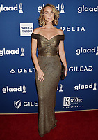 BEVERLY HILLS, CA - APRIL 12: Model/actress Arielle Kebbel attends the 29th Annual GLAAD Media Awards at The Beverly Hilton Hotel on April 12, 2018 in Beverly Hills, California.<br /> CAP/ROT/TM<br /> &copy;TM/ROT/Capital Pictures