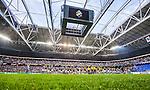 Solna 2014-08-13 Fotboll Allsvenskan AIK - Djurg&aring;rdens IF :  <br /> Vy &ouml;ver Friends Arena med &ouml;ppet tak under lineup inf&ouml;r matchen mellan AIK och Djurg&aring;rdens <br /> (Foto: Kenta J&ouml;nsson) Nyckelord:  AIK Gnaget Friends Arena Allsvenskan Derby Djurg&aring;rden DIF inomhus interi&ouml;r interior
