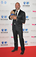 James Crossley at the Battersea Dogs &amp; Cats Home Collars &amp; Coats Gala Ball 2018, Battersea Evolution, Battersea Park, London, England, UK, on Thursday 01 November 2018.<br /> CAP/CAN<br /> &copy;CAN/Capital Pictures