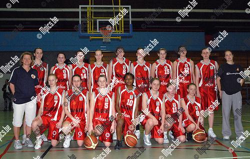 2007-04-03 / Basketbal meisjes: Belgian National Team under 16 (BNTu16)