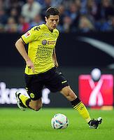 FUSSBALL   1. BUNDESLIGA   SAISON 2011/2012   SUPERCUP FC Schalke 04 - Borussia Dortmund            23.07.2011 Robert LEWANDOWSKI (Borussia Dortmund) Einzelaktion am Ball