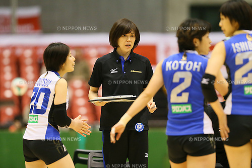 Kumi Nakada (Springs), <br /> DECEMBER 13, 2013 - Volleyball : <br /> 2013 Emperor's Cup and Empress's Cup <br /> All Japan Volleyball Championship women's match <br /> between Hisamitsu Springs 3-1 Hitachi Rivale <br /> at Tokyo Metropolitan Gymnasium, Tokyo, Japan. <br /> (Photo by YUTAKA/AFLO SPORT)