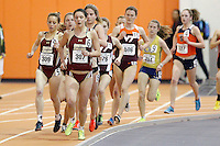 Boston College's Morgan Mueller (307) Boston College's Elizabeth O'Brien (309)