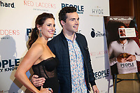 LOS ANGELES, CA - NOVEMBER 13: Kaily Smith Westbrook and Ian Hardin at People You May Know at The Pacific Theatre at The Grove in Los Angeles, California on November 13, 2017. Credit: Robin Lori/MediaPunch /NortePhoto.com