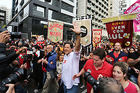16.09.2018 - Haddad faz caminhada na av Paulista em SP