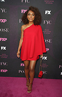 """WEST HOLLYWOOD, CA - AUGUST 9: Mj Rodriguez, at Red Carpet Event For FX's """"Pose"""" at Pacific Design Center in West Hollywood, California on August 9, 2019. <br /> CAP/MPIFS<br /> ©MPIFS/Capital Pictures"""
