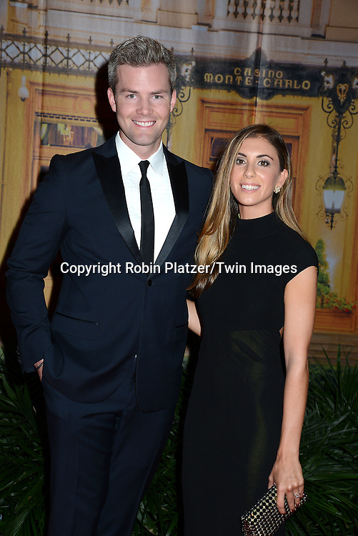 Ryan Serhant &amp; fiancee Emilia Bechrakis attend the New Yorkers for Children's Fall Gala on September 16, 2015 at Cipriani 42nd Street in New York City, New York, USA.<br /> <br /> photo by Robin Platzer/Twin Images<br />  <br /> phone number 212-935-0770