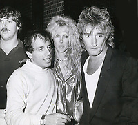 Rod Stewart, Steve Rubell Alana Hamilton 1977<br /> Photo By John Barrett-PHOTOlink.net / MediaPunch