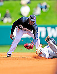 3 March 2010: Atlanta Braves' infielder Yunel Escobar in action during a Grapefruit League game against the New York Mets at Champion Stadium in the ESPN Wide World of Sports Complex in Orlando, Florida. The Braves defeated the Mets 9-5 in the Spring Training matchup. Mandatory Credit: Ed Wolfstein Photo