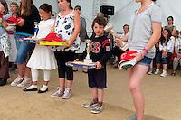 .Jeune laureat de 10 ans du concours de gavottes